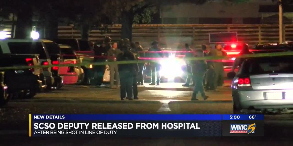 Deputy released from hospital after being shot on duty, sheriff says