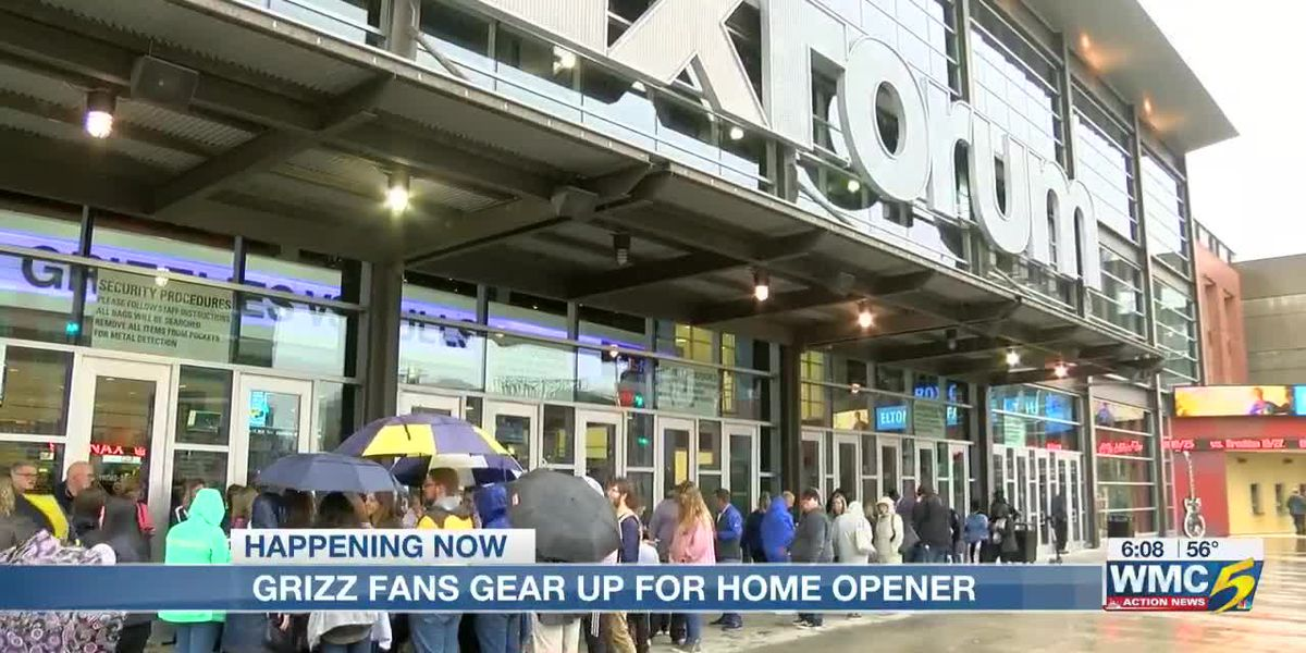 Grizz fans gear up for home opener