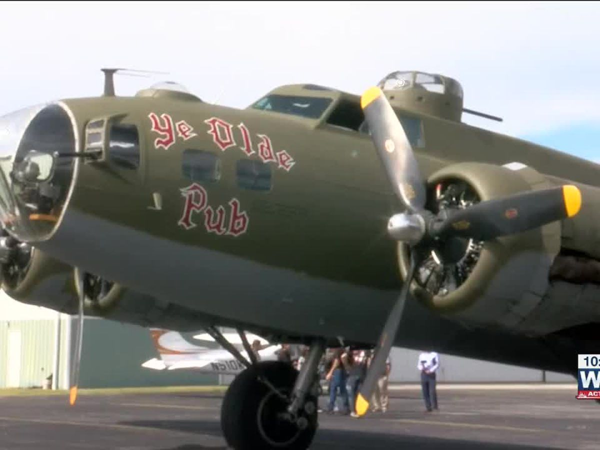 Historic World War II B-17 bomber to give Memphians a chance to fly