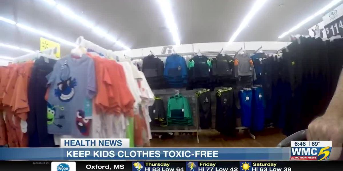 How to keep your children's clothes free of toxins