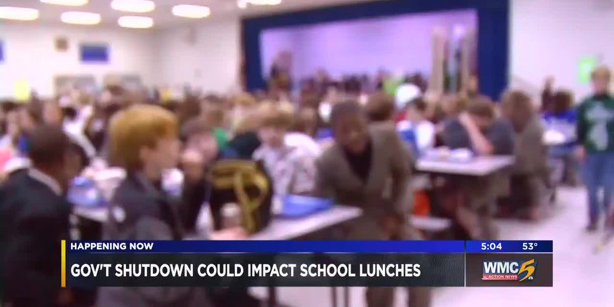 Gov't shutdown could impact school lunches