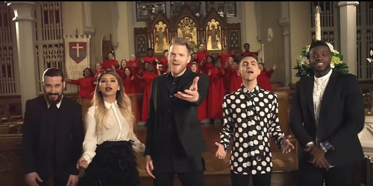 Briarcrest OneVoice makes appearance in new Pentatonix video