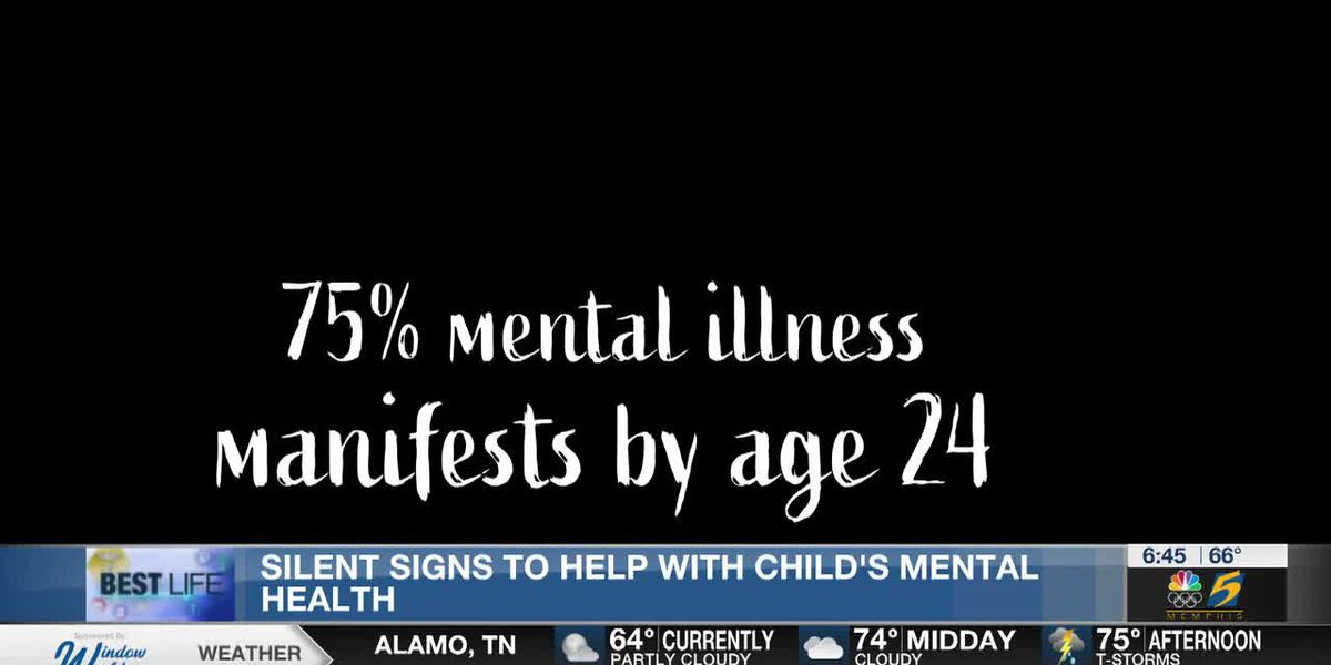 Best Life: Silent signs to help with children's mental health