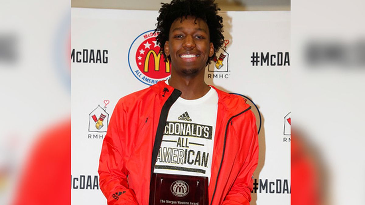 Wiseman wins Morgan Wootten Player of the Year
