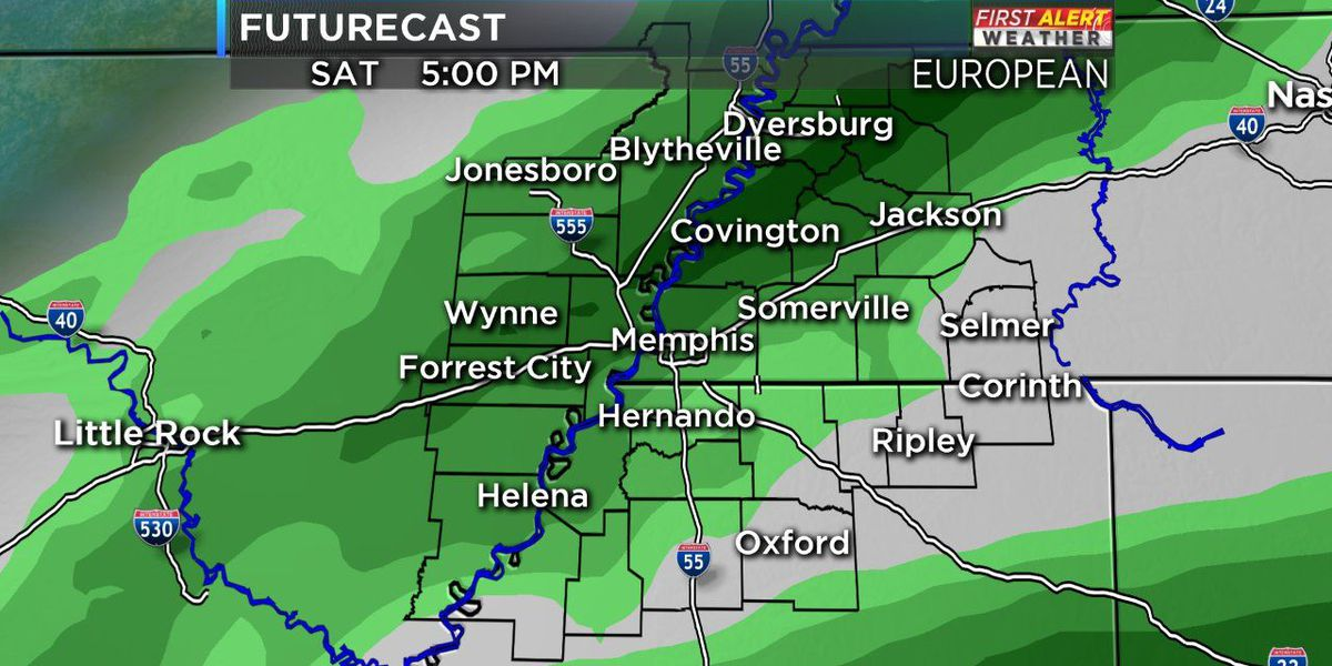 Expect rain to affect your plans this weekend