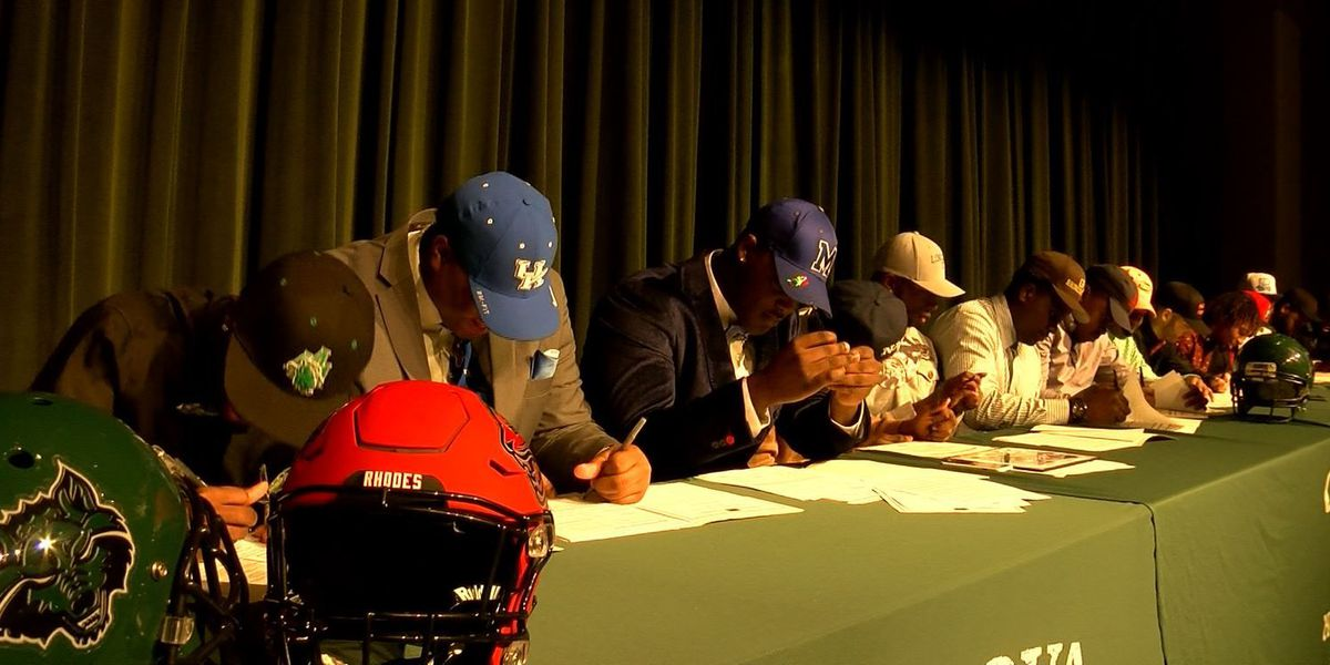 Top Memphis high school athletes commit with colleges