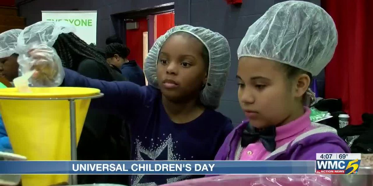 Mid-South students donate meals in honor of Universal Children's Day