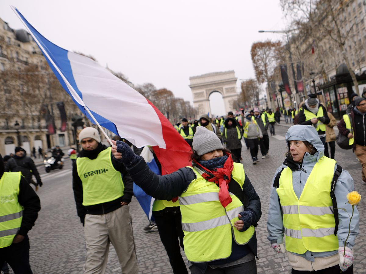 21 detained before Paris protests as police deploy in force