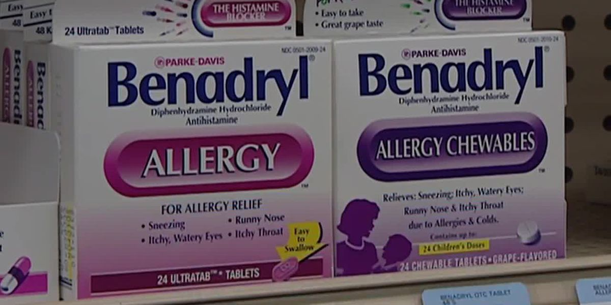 FDA issues warning for 'Benadryl Challenge'