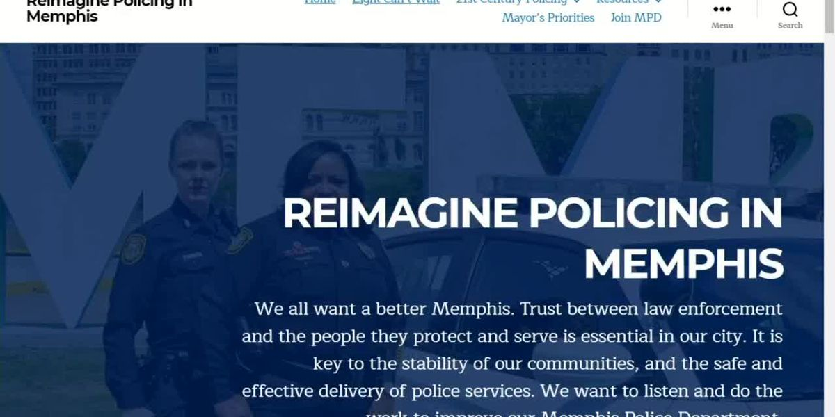 New website seeks input from Memphians on police reform, lists MPD policies and more