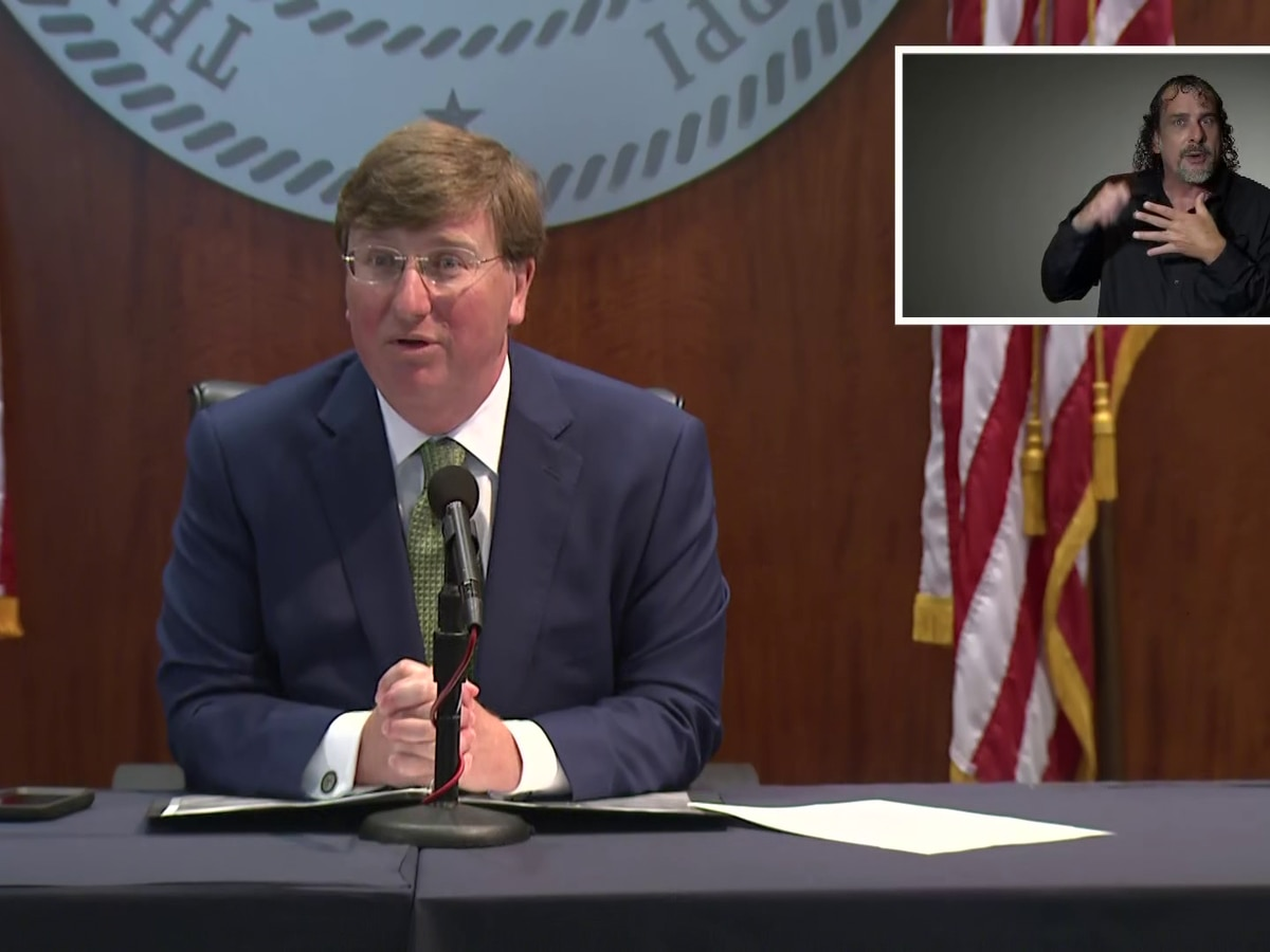WATCH: Gov. Reeves announces COVID-19 Emergency Relief Program