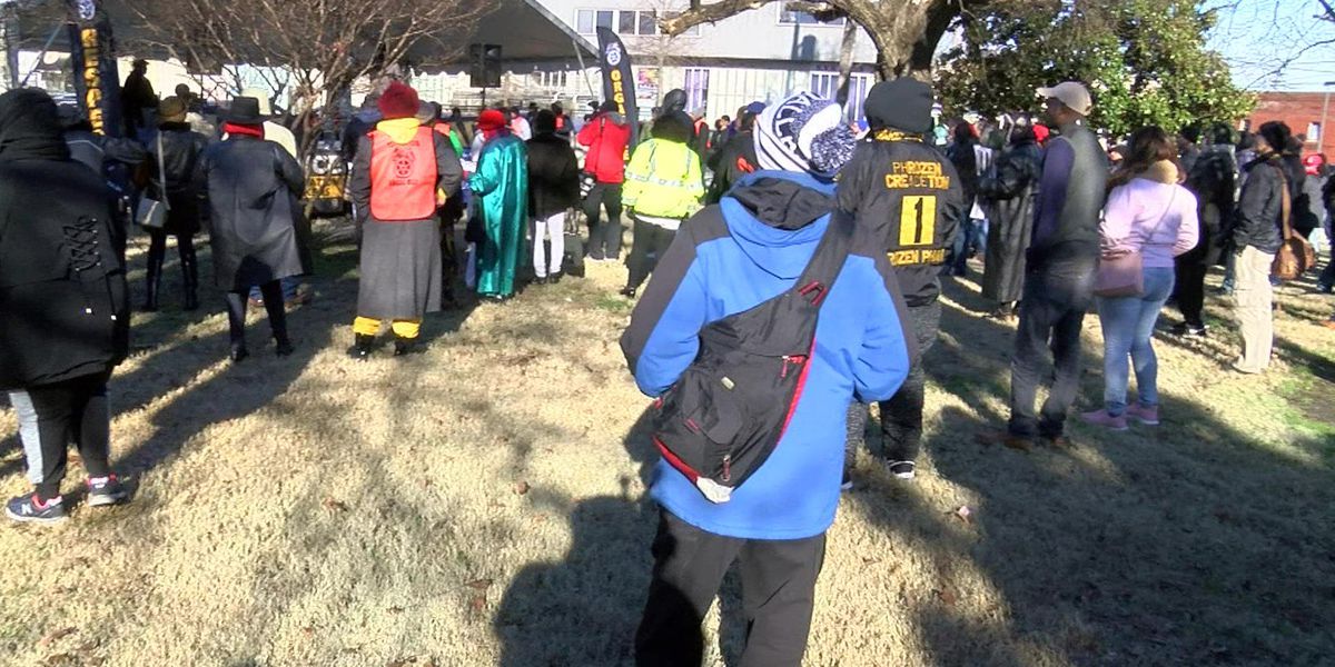 Annual Dr. King Parade draws hundreds of participants
