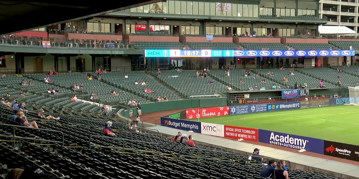 Fans return to AutoZone Park for first 901 FC match since coronavirus shutdown