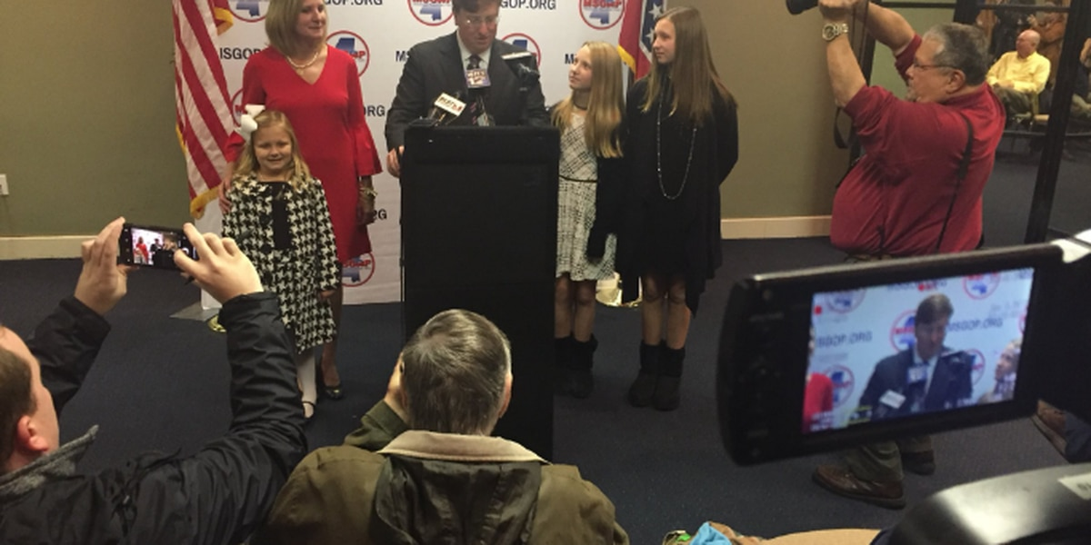 Lt. Governor Tate Reeves makes gubernatorial bid official