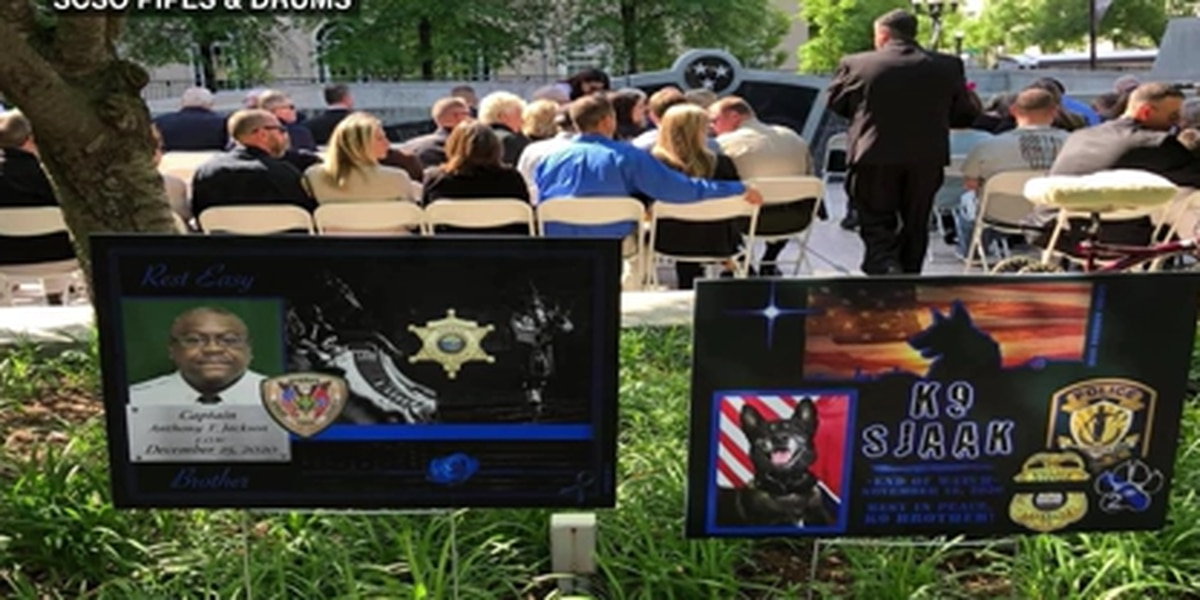 SCSO honors fallen employees during National Police Week