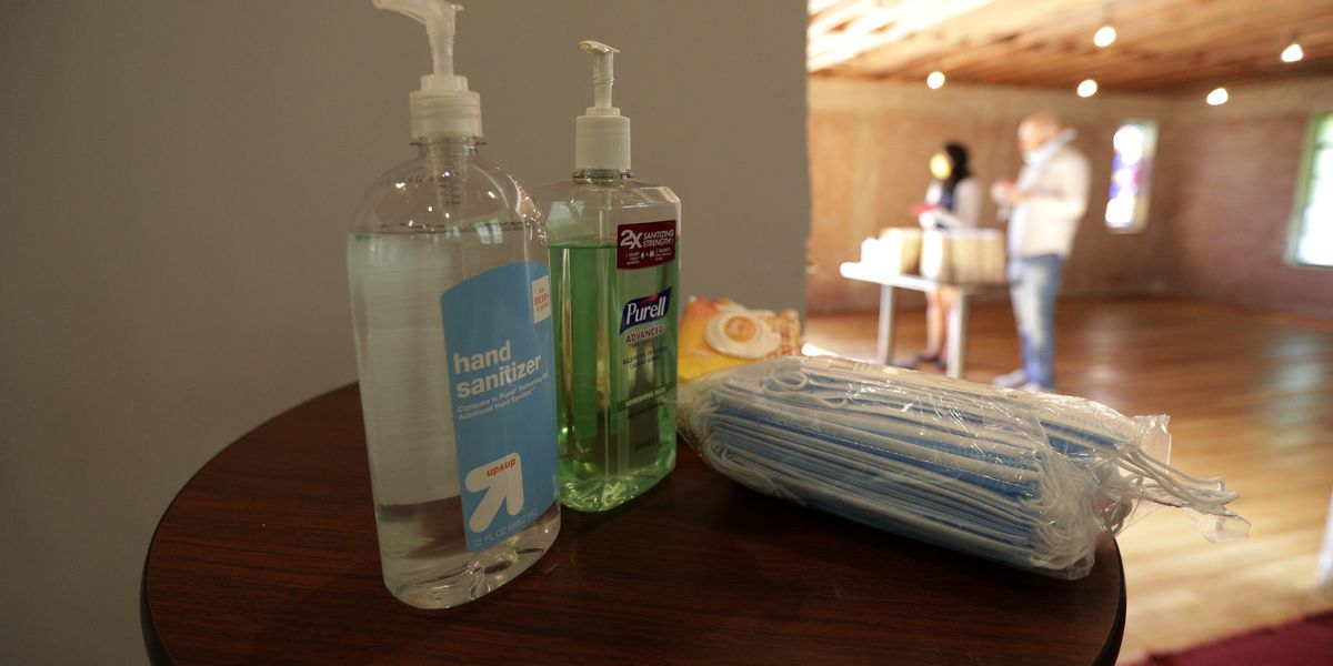 Fire dept. warns about leaving hand sanitizer in your car on a warm day, sparking controversy