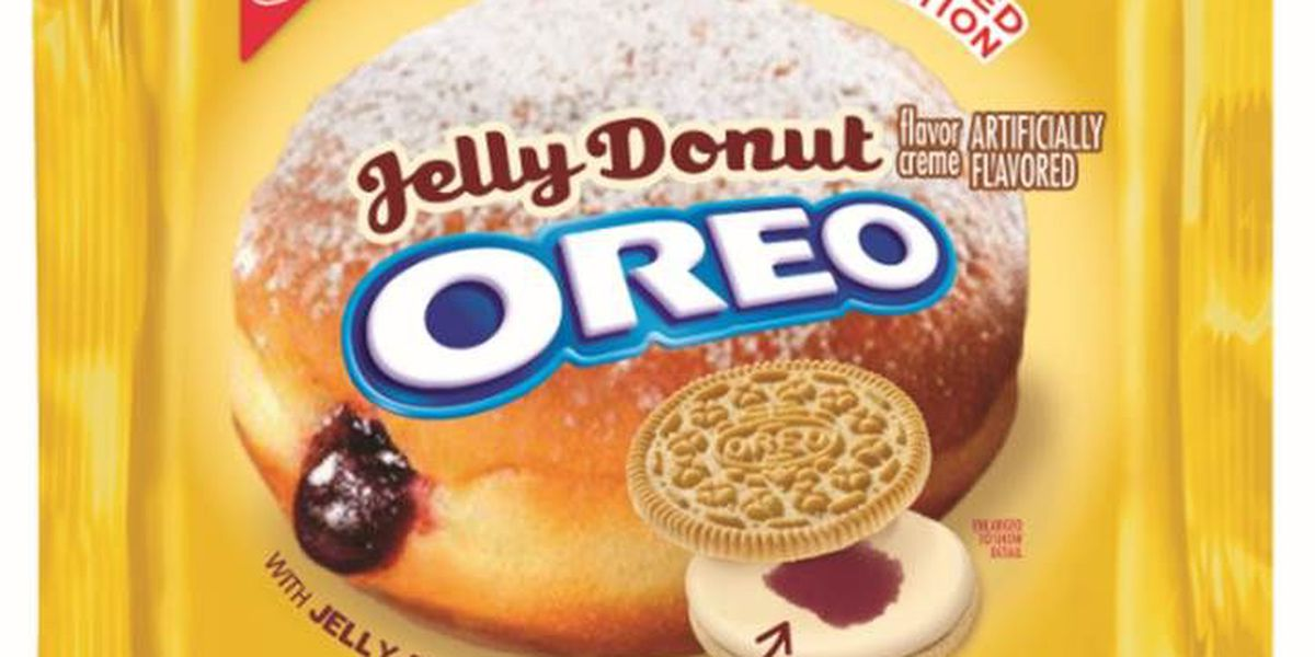 Oreo unveils jelly donut-flavored cookie