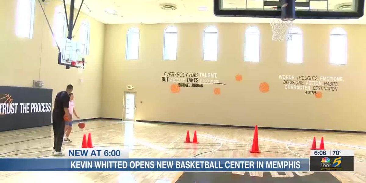 Kevin Whitted opens new basketball center in Memphis