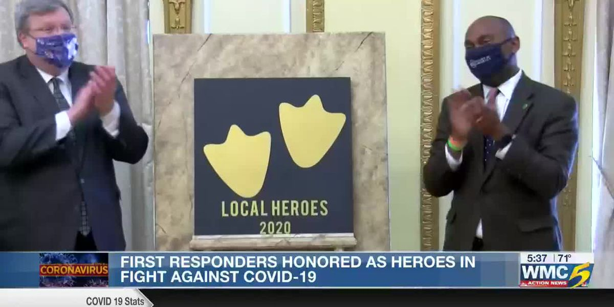 First responders honored as heroes in fight against COVID-19