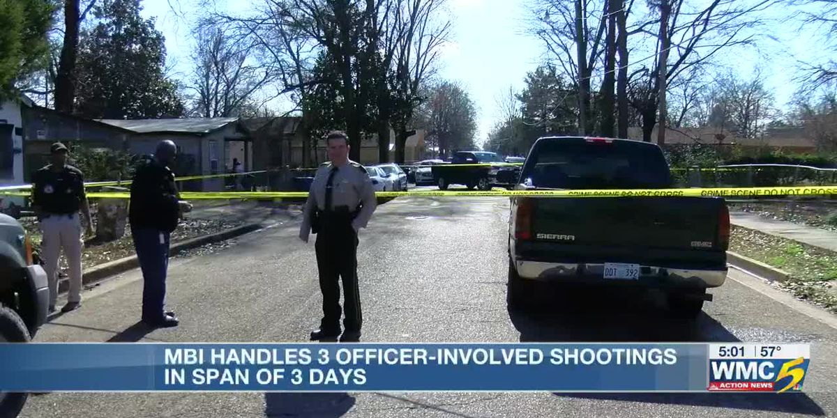 MBI investigates 3 officer-involved shootings in North Mississippi in 3 days