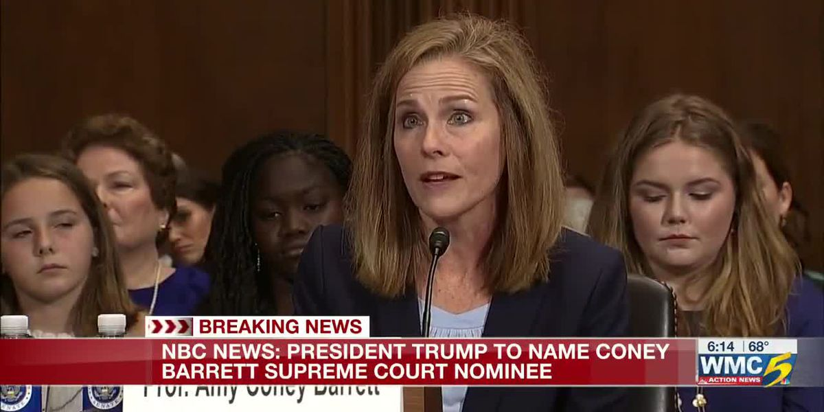 Reports: President Trump to pick Amy Coney Barrett as Supreme Court nominee
