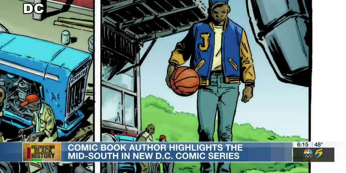 Comic book author highlights the Mid-South in new D.C. Comic series