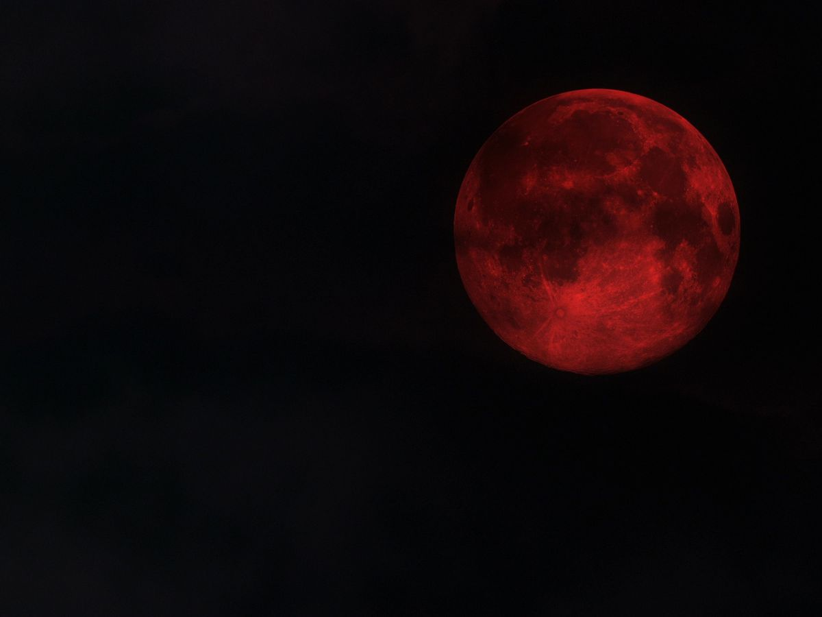 The super blood wolf moon eclipse is coming this weekend