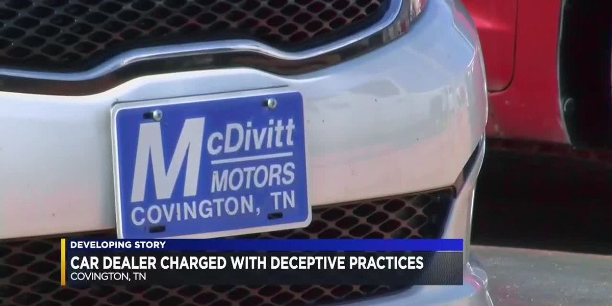Car dealer charged with deceptive practices