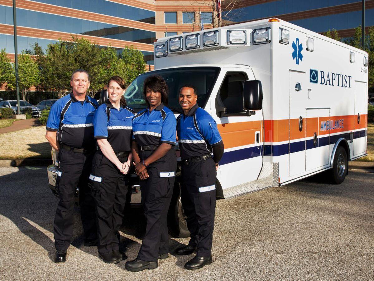 Baptist Ambulance providing emergency service for Tipton County