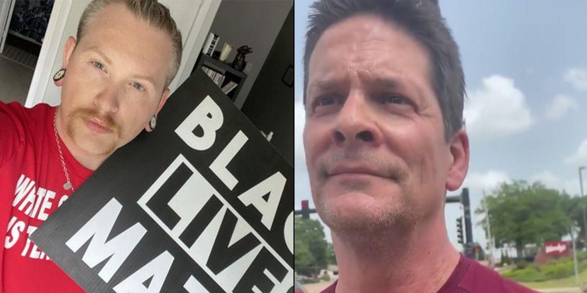 Video of confrontation between BLM demonstrator, Germantown man goes viral