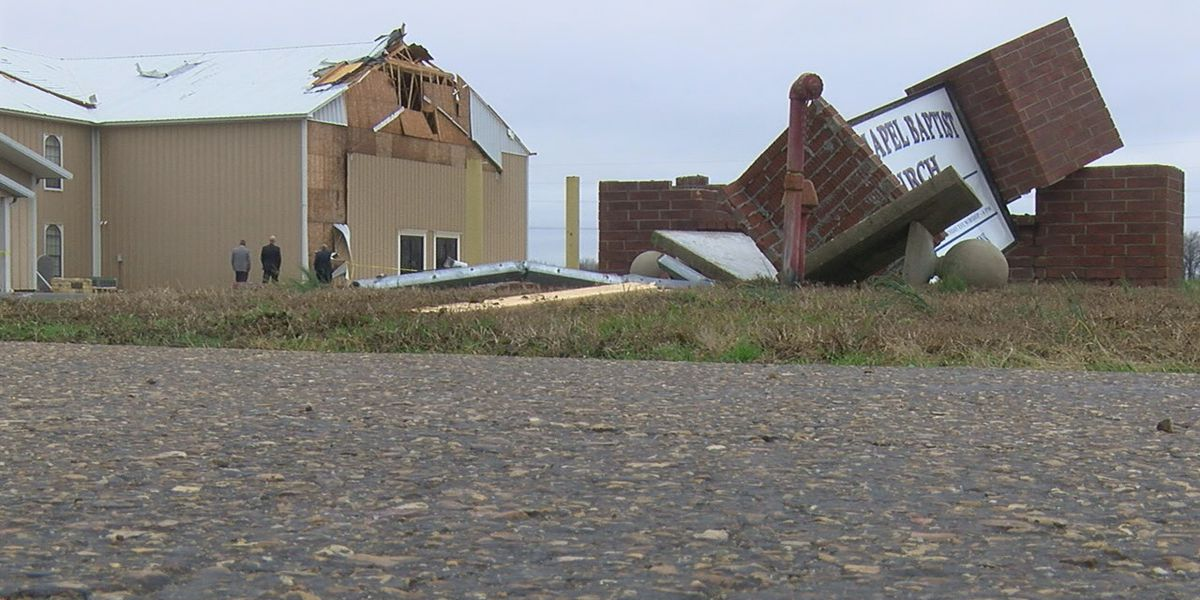 Cross Co. church damaged, continues services after severe storms