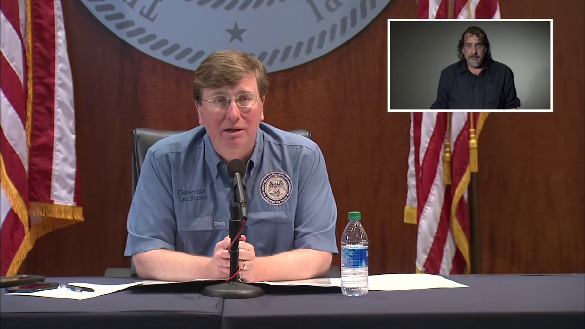 WATCH: Gov. Reeves discusses COVID-19 in Mississippi