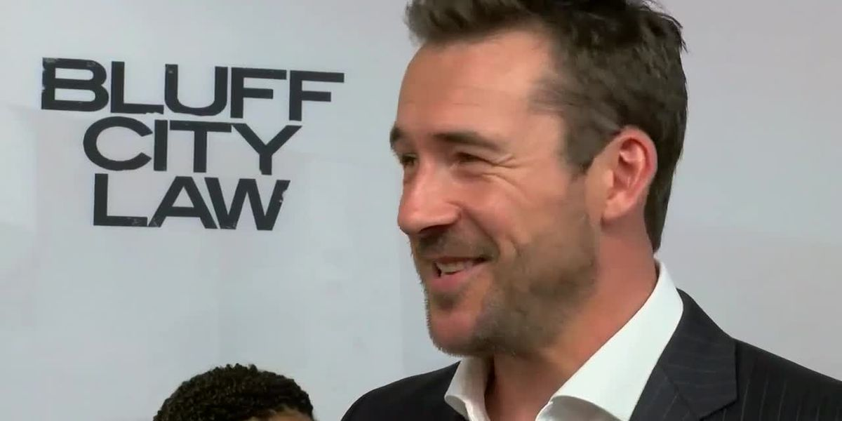 "Barry Sloane stars as ""Jake Reilly"" on Bluff City Law"