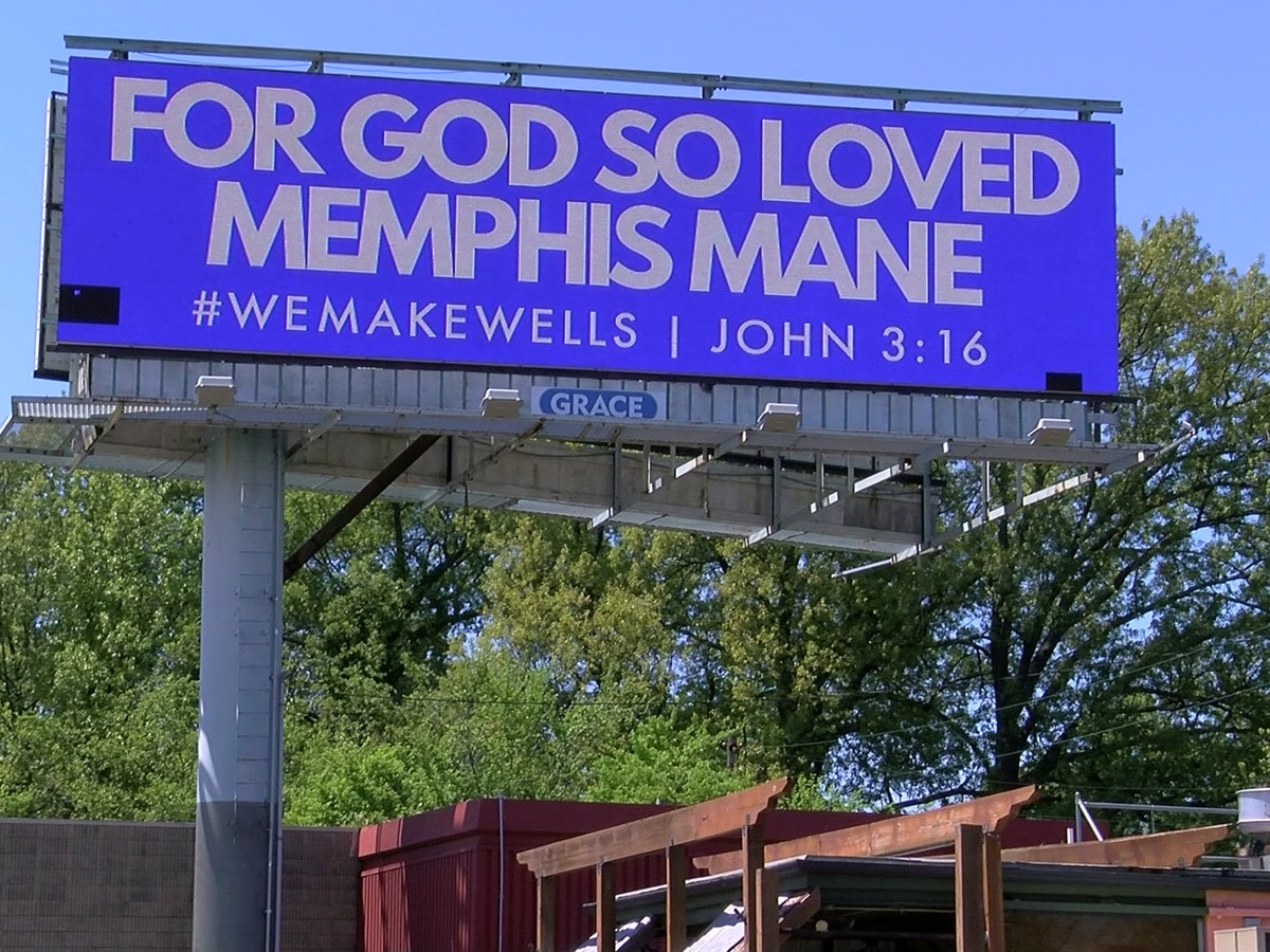 Local pastor goes viral with promotion billboards