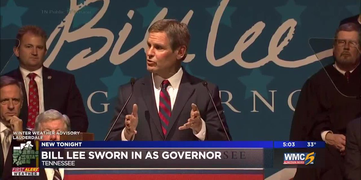 Bill Lee sworn in as governor
