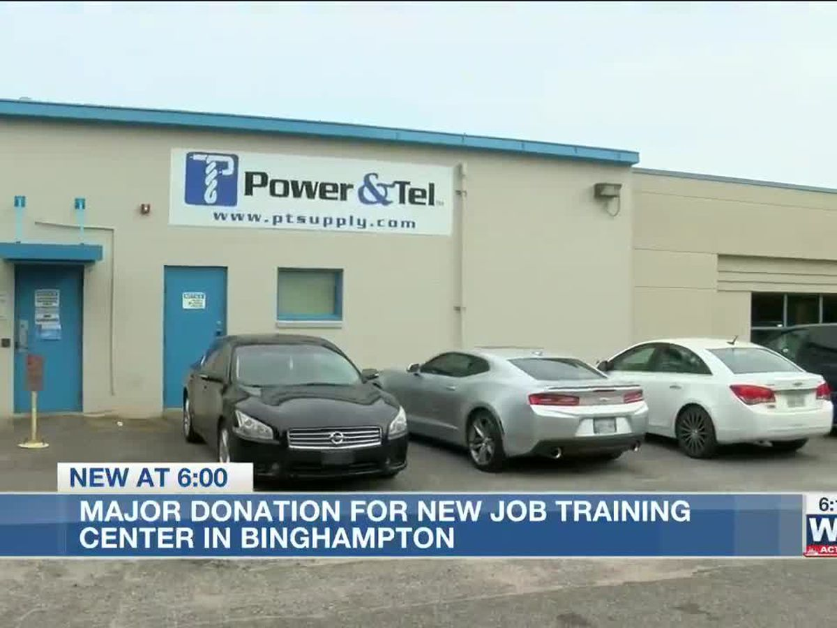 Local company donates warehouse for massive future Binghampton job training center