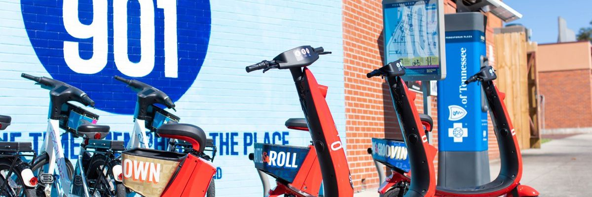 Seated electric scooters coming to Memphis