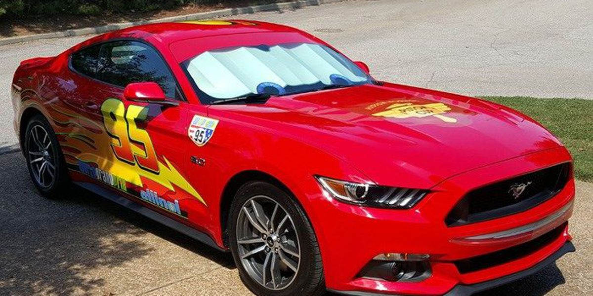 Dad Transforms Car Into Lightning Mcqueen To Surprise His Son