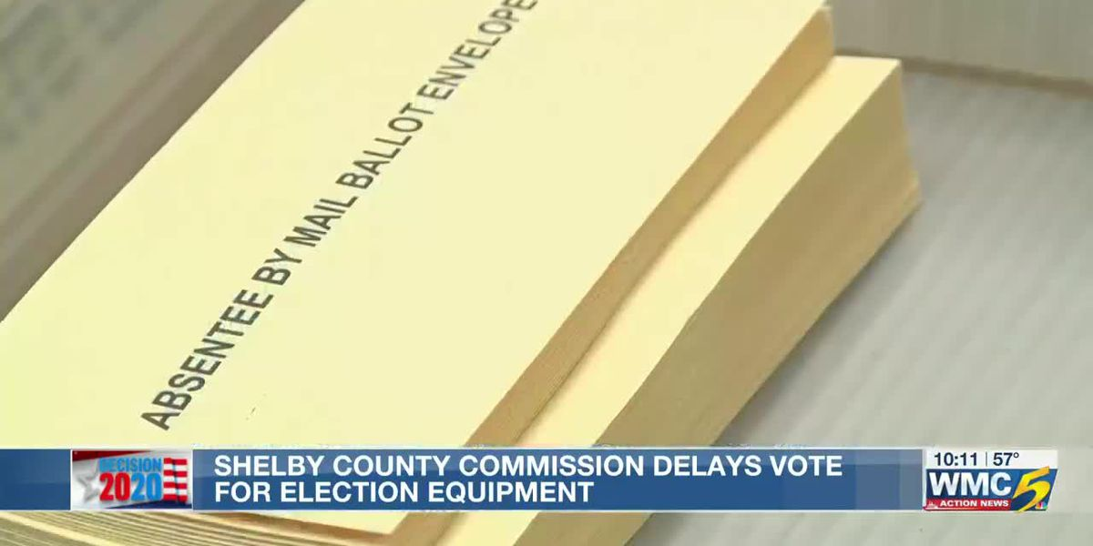 Shelby County Commissioner says election results may be delayed due to lack of scanners