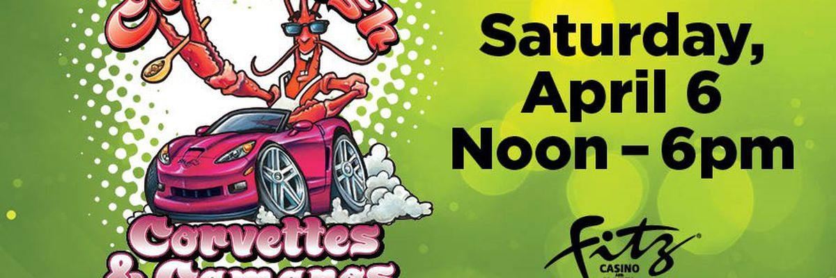Enter to win a pair of VIP tickets to Crawfish, Corvettes & Camaros