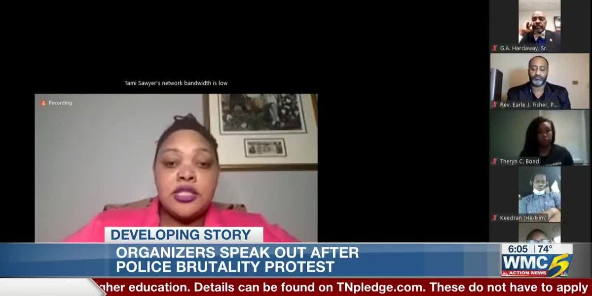 Organizers speak out after protest against police brutality
