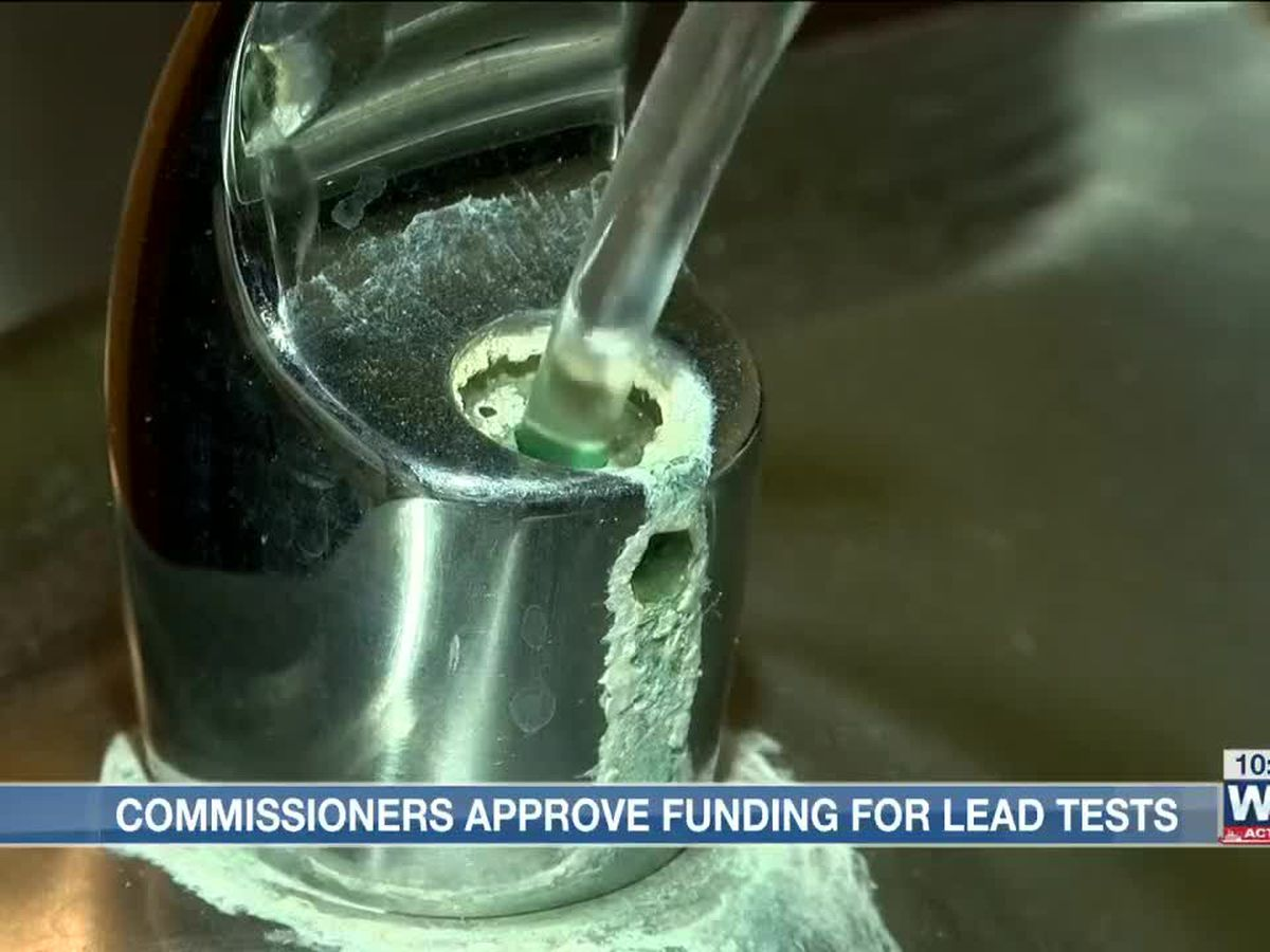 Shelby County commission approves $80,000 for lead testing