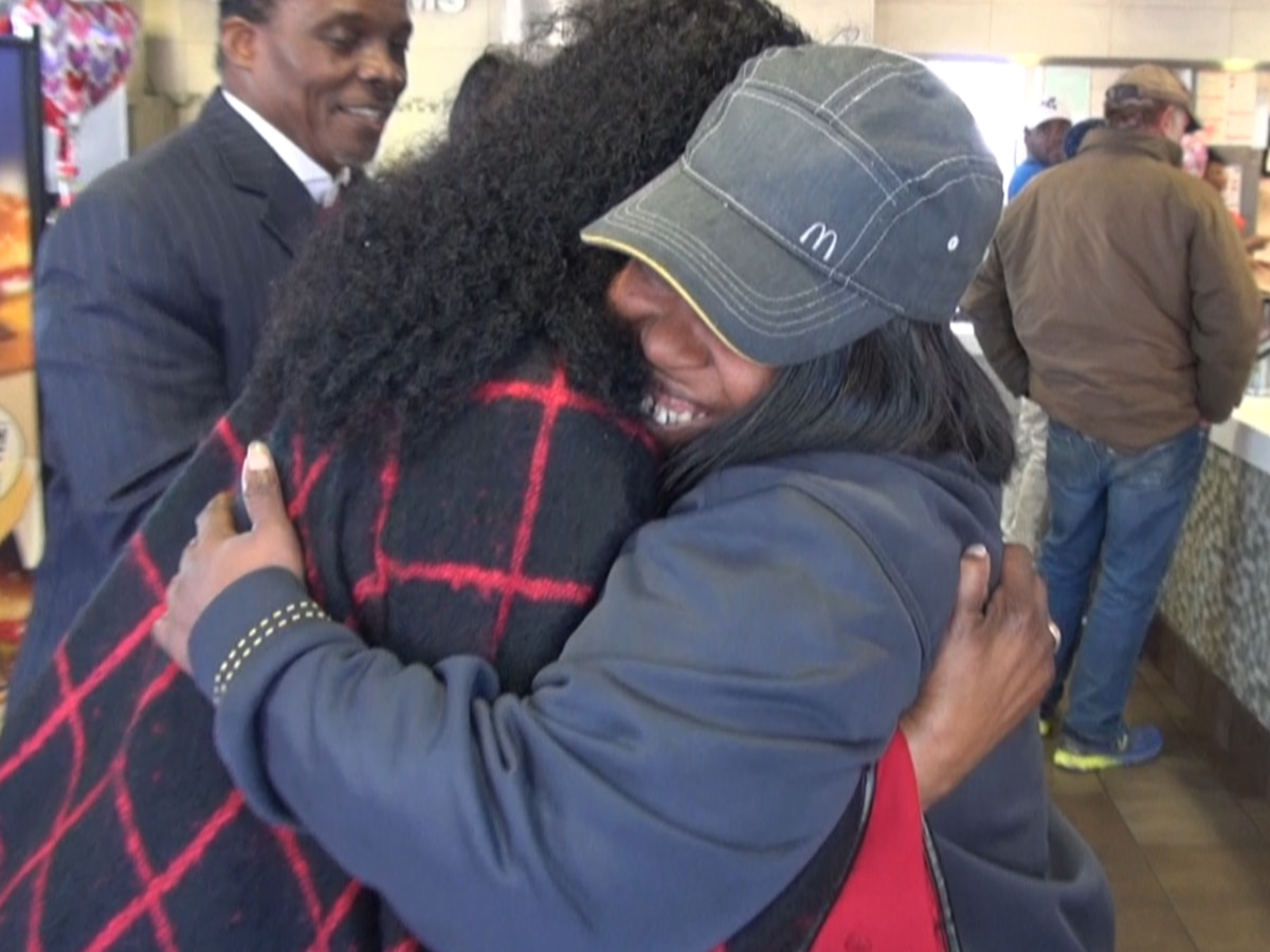 McDonald's worker surprised with award for her kindness, customer service