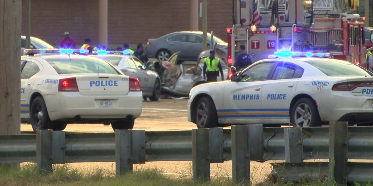 Man strikes 2 officers with vehicle in South Memphis