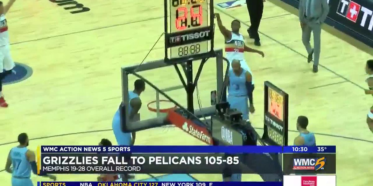Grizzlies fall to Pelicans in heartbreaking MLK Day game