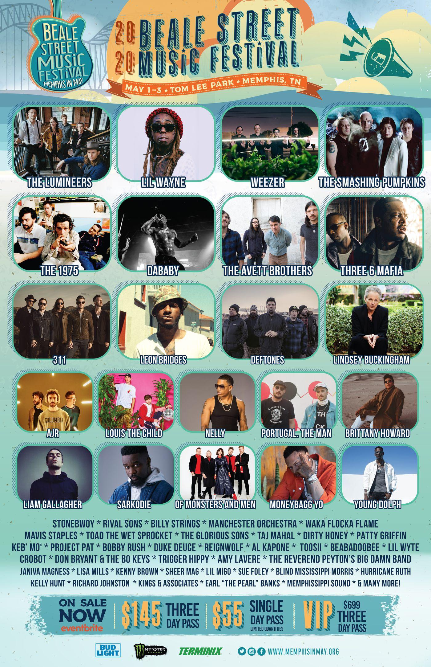 Beale Street Music Festival 2020