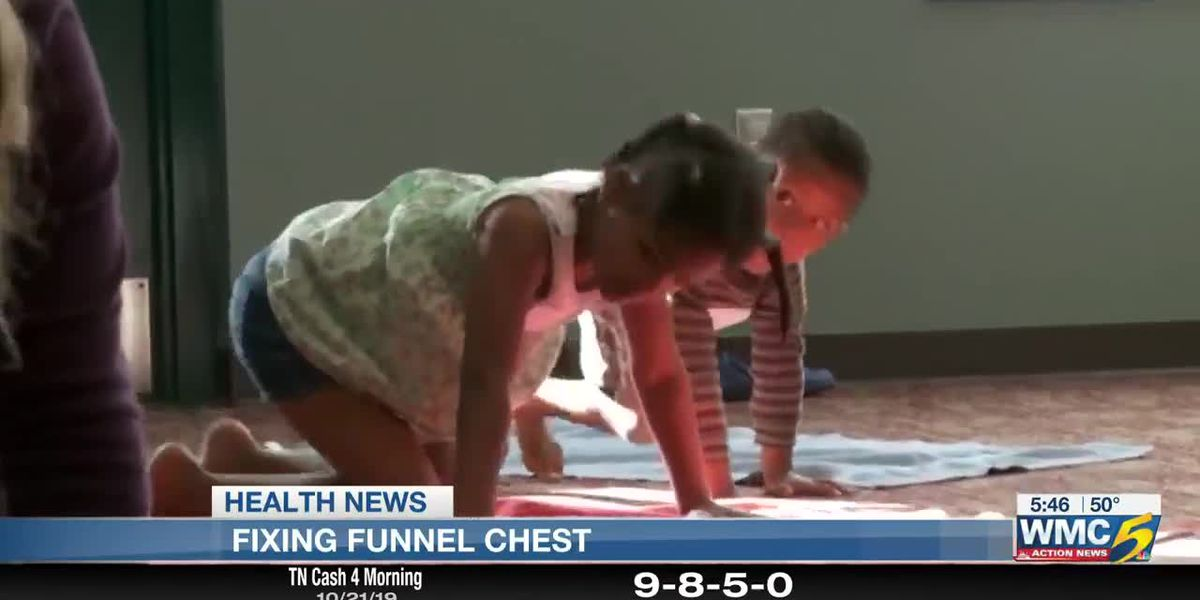 Does your child suffer from 'funnel chest'?