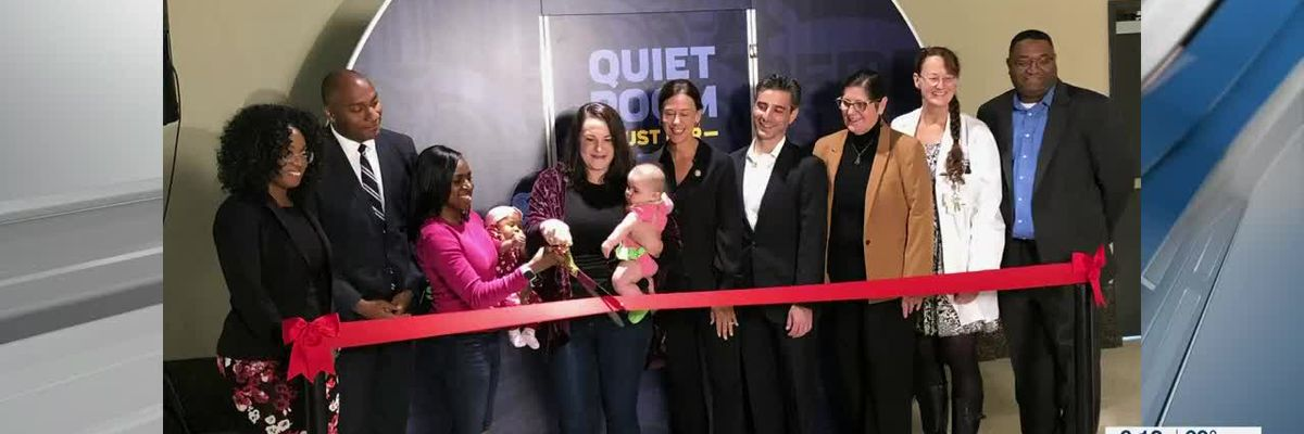 Lactation pod opens with ribbon cutting at FedExForum