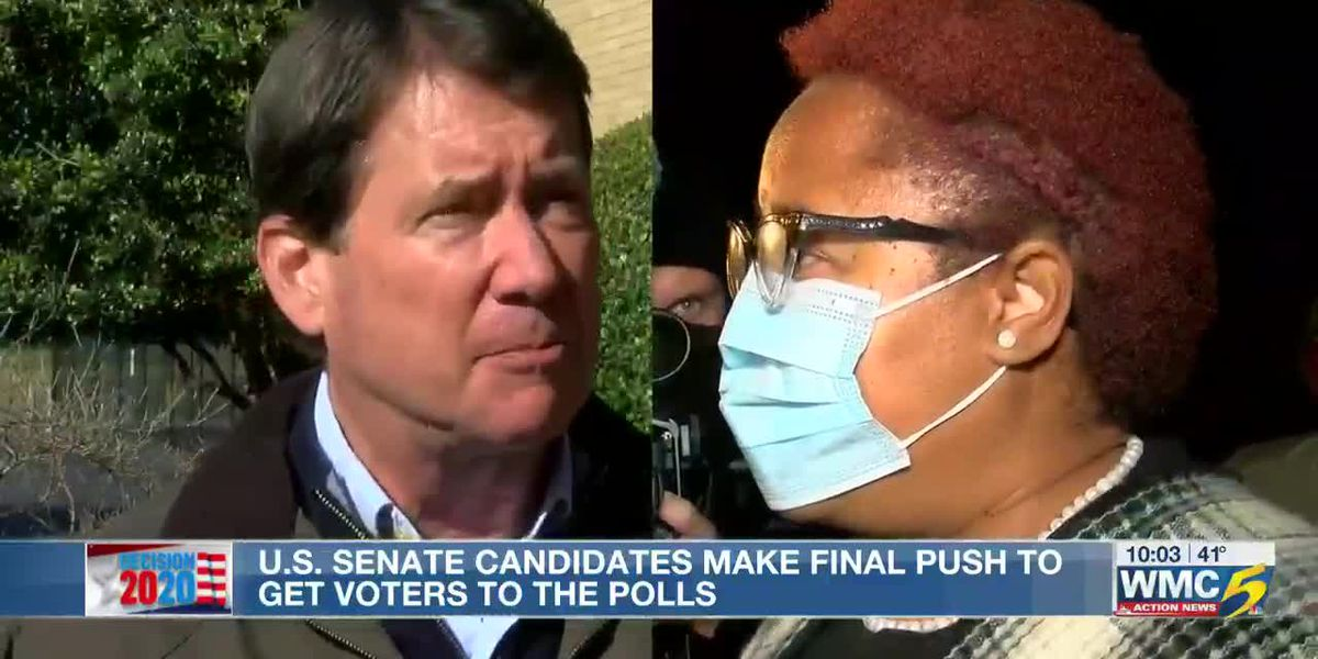 U.S. Senate candidates make final push to get voters to the polls