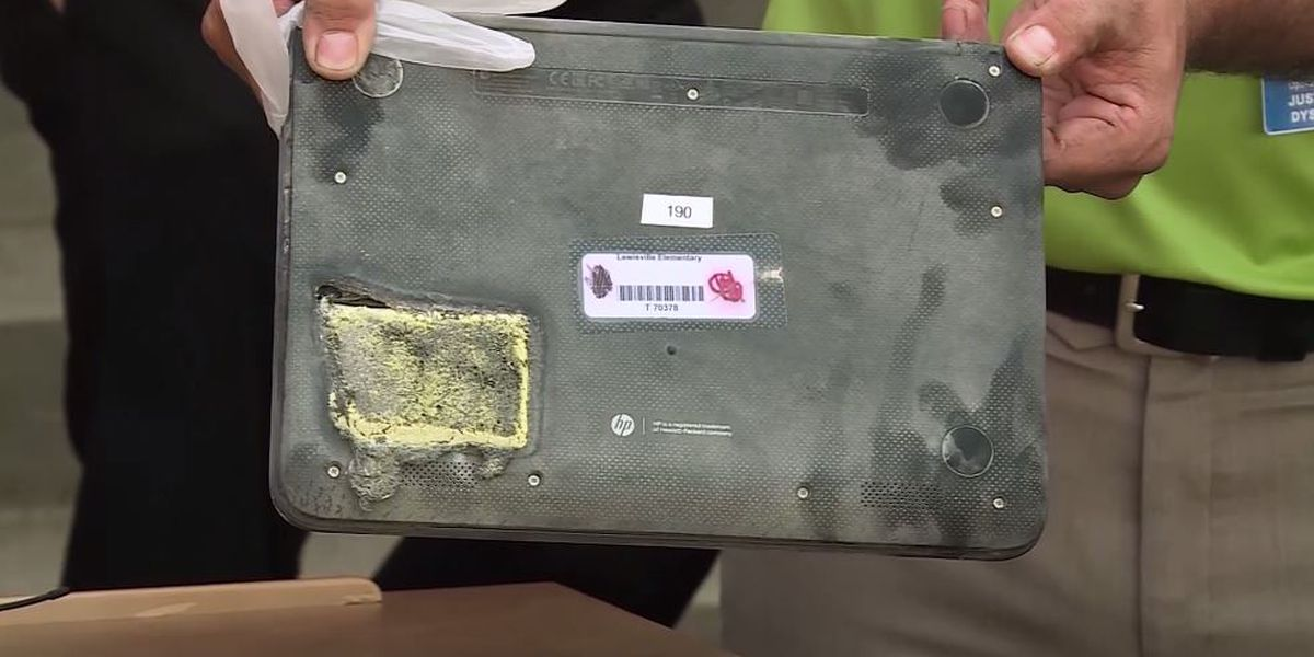 Laptop catches fire in N.C. classroom, forcing school evacuation